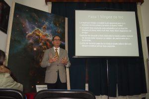 Dl. Marian Naiman în timpul prezentării. Foto: Zoltan Deak