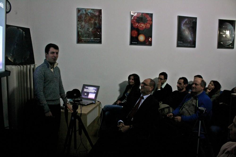 Catalin Paduraru in timpul prezentarii