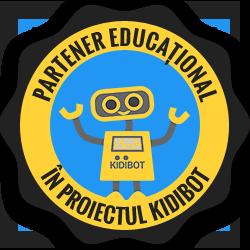 Astroclubul București este partener educațional în proiectul Kidibot